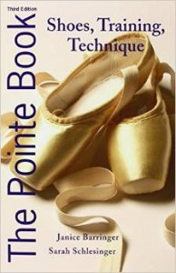 The Pointe Book all about pointe shoes
